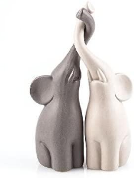Pajoma 54837 Loving Elephants Set of 2, Height 25.5 CM