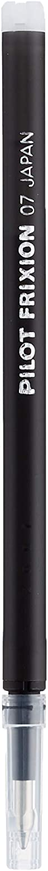 Pilot Black Frixion Erasable Ballpoint Pen Refill Cartridge Replacement Ink BLS-FR7 (Pack of 3) - 9 Refill Cartridges - Black, Pack of 3 (9 Refills)