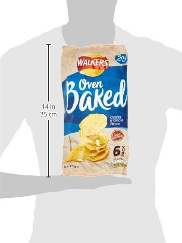 Walkers Better For You Lunchbox Multipacks Snacks and Crisps Box (28 Single Bags)
