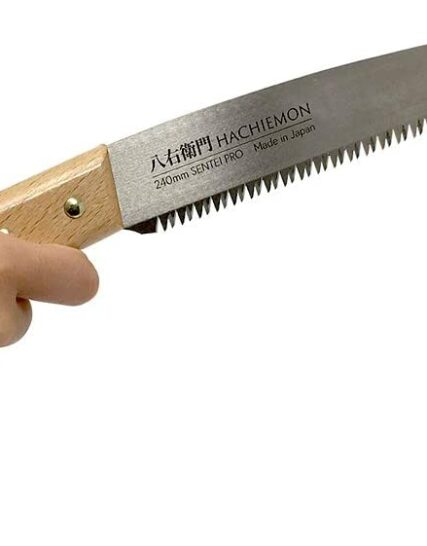 Japanese Saw 240mm Hand Pruning Saw SENTEI PRO Sharp and Smoothly HACHIEMON