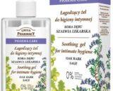 Green Pharmacy - Pharma Care - Soothing gel for intimate hygiene OAK BARK SAGE 300ml