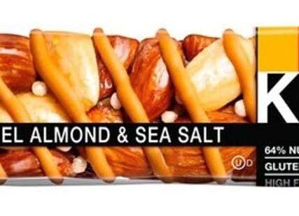 KIND Bars, Healthy Gluten Free & Low Calorie Snacks, Caramel Almond & Sea Salt, 12 Bars, (Packaging May Vary)