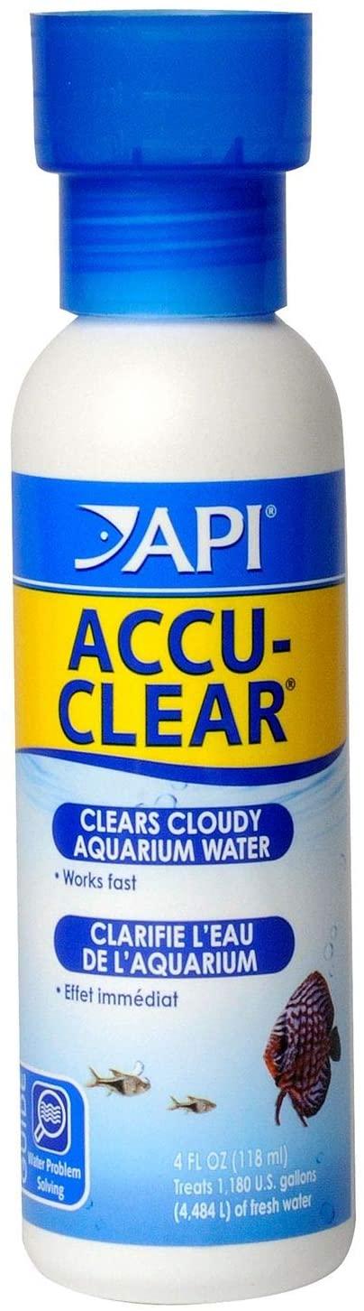 API ACCU-CLEAR Freshwater Aquarium Water Clarifier 118 ml Bottle