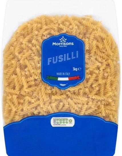 Morrisons Fusilli, 3kg