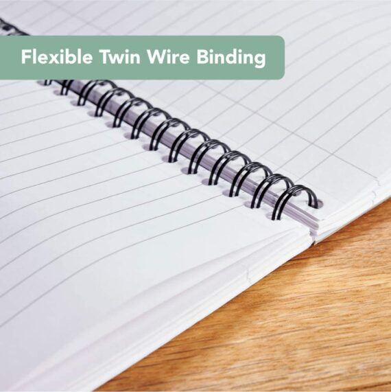 Cambridge Jotter, A4 Notebook, Wirebound, Lined, 200 Page, Pack of 3, green