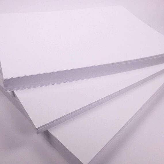 A4 White Craft Card Bright Cardstock for Crafting 300gsm Art Card 100 Sheets Craft card