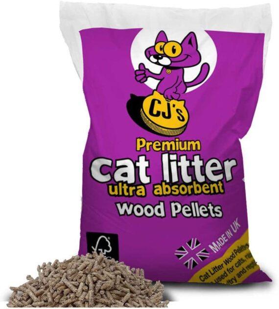 Cj's Premium Cat Litter, 30 Litre