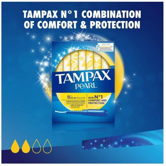 Tampax Pearl Regular Tampons Applicator