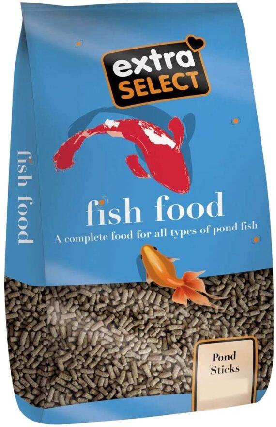 Extra Select Pond Sticks Complete Fish Food, 10 kg