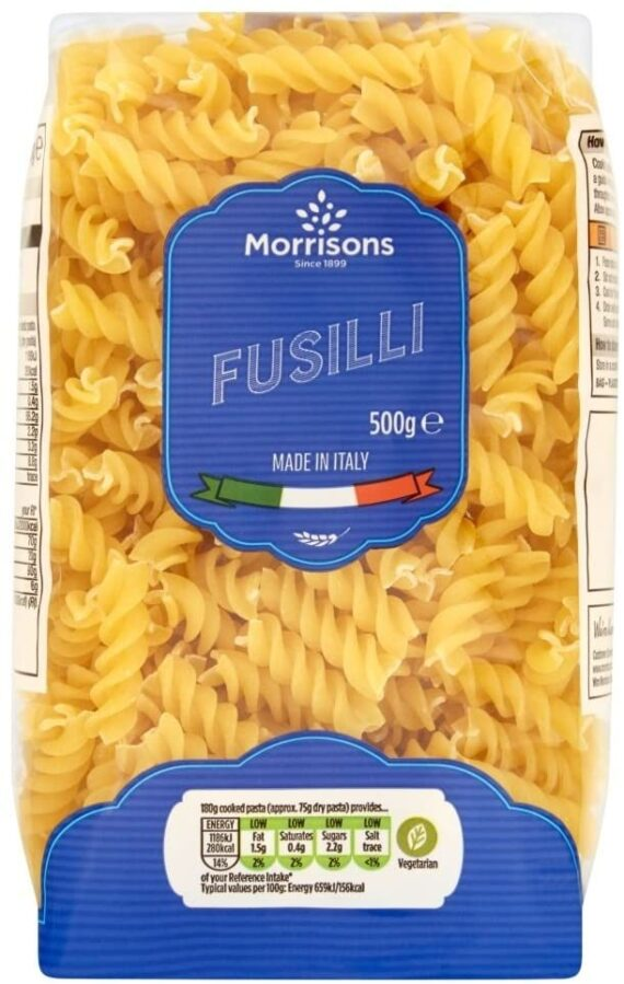 Morrisons Fusilli, 500 g