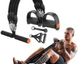 Pedal Resistance Bands Set, Exercise Bands, Multifunction Tension Rope,Sit-up Bodybuilding Expander for Fitness, Home Gym Equipment for Men/Women