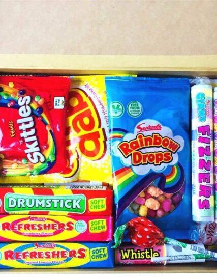 Tabby's Sweet Treats All Vegan Retro Selection Box