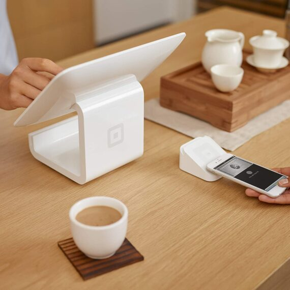 Square Stand Including Reader and Dock - Accept Contactless, Chip and PIN, Apple Pay, and Google Pay