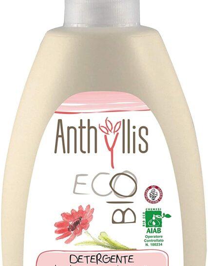 Organic Anthyllis Delicate Intimate Feminine Wash, Blueberry & Calendula extracts Gentle for Sensitive Skin, Vegan, SLS PEG Paraben Free Dermatology Tested, 300ml (Single)