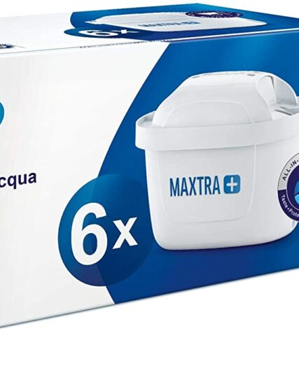 BRITA MAXTRA+ Water Filter Cartridges - Pack of 6 (EU Version)