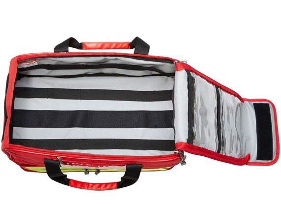 GIMA 27161 Life-2Bag, Large, Red, emergency, trauma, rescue, medical, first aid, nurse, paramedic multi pocket bag, 47,5x33x30 cm