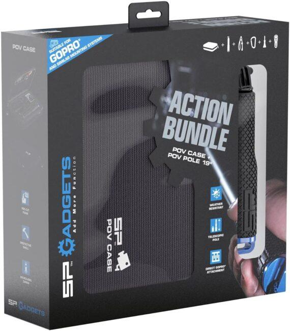 Helmet Camera SP Gadgets Action Bundle