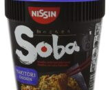 Nissin Yakitori Chicken Soba Noodles with Yakisoba Sauce, 89 g, Pack of 8
