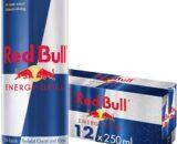 Red Bull Energy Drink 12 Pack of 250 ml