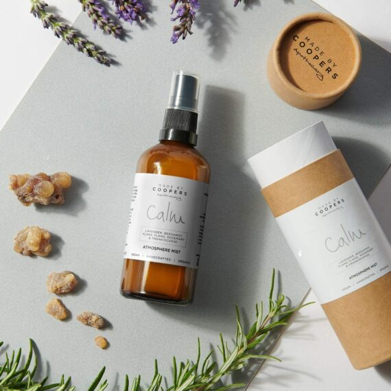Made By Coopers Calm Natural Room, Linen & Pillow Sleep Spray with Essential Oils Lavender, Bergamot and Ylang Ylang (100ml)