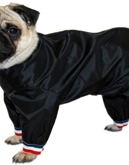 Cosipet 1/2 Leg Trouser Suit, 16-inch/ 41 cm, Black