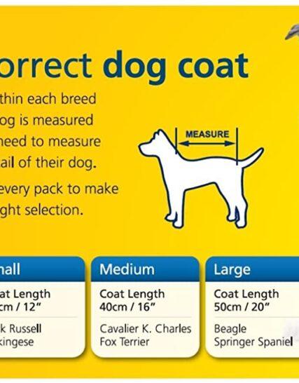 Ancol Muddy Paws Stormguard Dog Coat Red size Medium