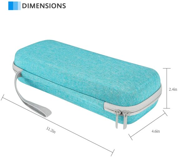 ProCase Stethoscope Carry Case, for Littmann Cassic/Omron/ADC/Dixie EMS Stethoscope, Doctor Nurse Ambulance Bag Pouch, Medical Students Accessories -Teal