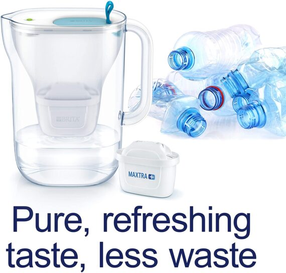 BRITA MAXTRA+ water filter cartridges, compatible with all BRITA jugs for chlorine and limescale reduction, 6 pack
