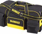 Dewalt DWST1-79210 Duffel Trolley Bag with Wheels, Yellow/Black, Large 26-Inch