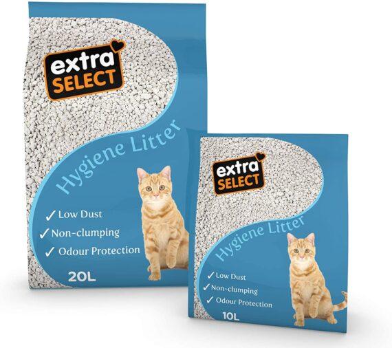 Extra Select Premium Hygiene Cat Litter 20ltr