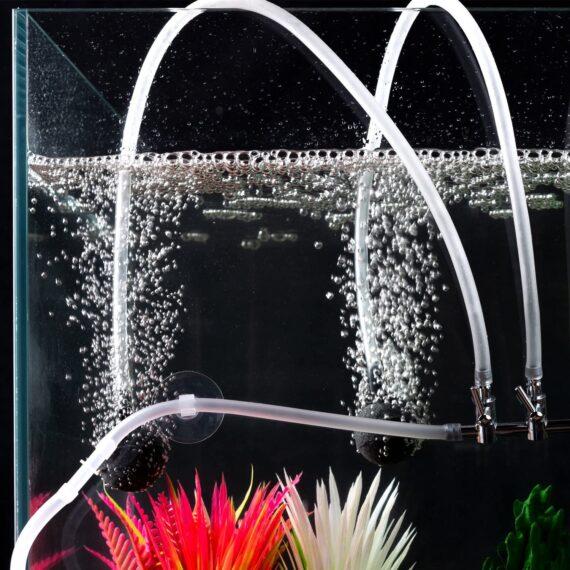 SLSON Aquarium Airline Tubing Soft Air Pump Hose for Fish Tank Accessories,Standard Diameter,26 Feet