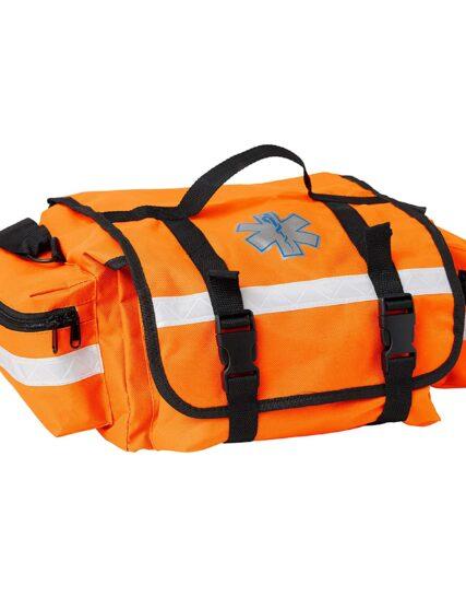 Primacare Medical Supplies KB-RO74 17 x 9 x 7-inch Orange Trauma Bag