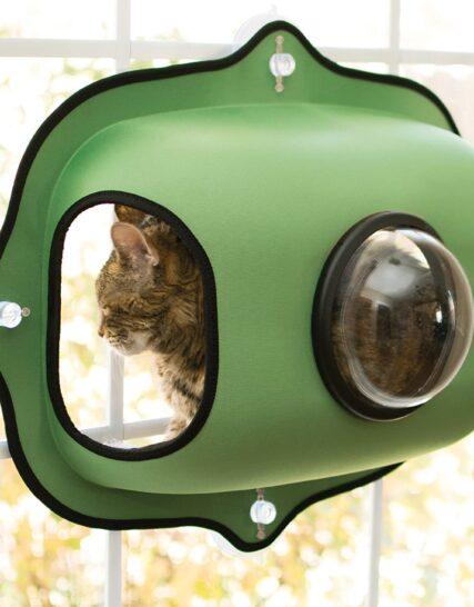 K&H Pet Products Ez Window Bubble Pod, Green