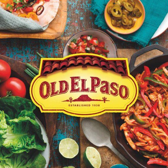 Old El Paso Mexican Smoky Fajita Dinner Kit, 500g