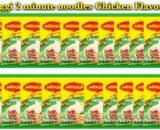 MAGGI 2 MINUTE NOODLES CHICKEN FLAVOUR 20 X 77g