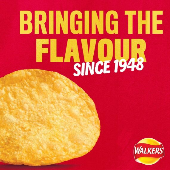 Walkers Meaty Variety Multipack Crisps 24 x 25 g (Case of 8)