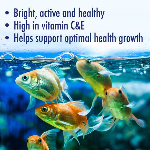 Aquarian Goldfish Food Flakes, 50g
